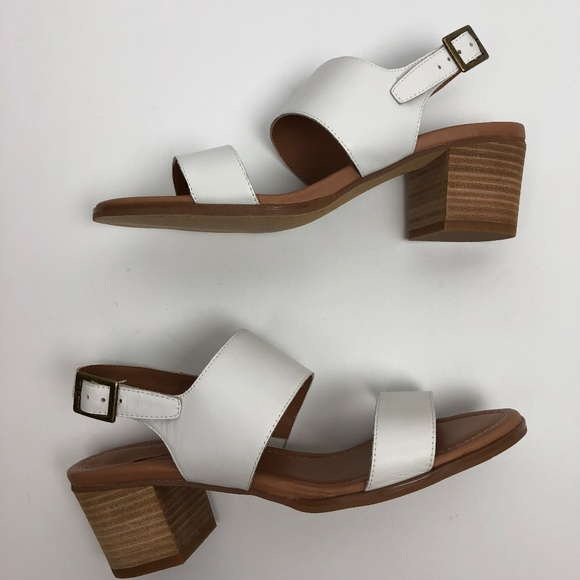 1c1934be80c Caslon Shoes - Caslon Nordstrom Sandals Stacked Heel White Strap